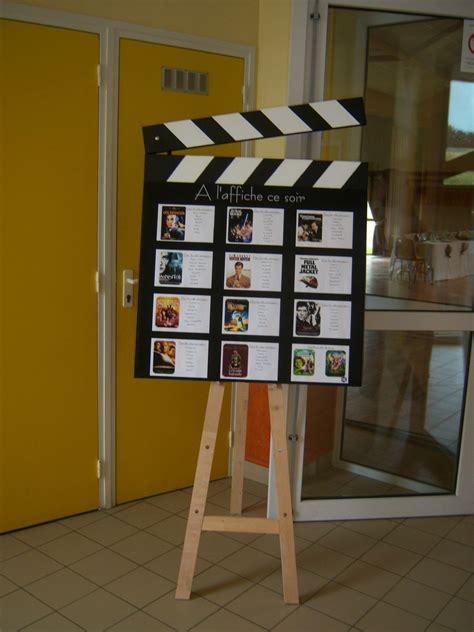 Decoration De Table Cinema by Placement De Table Theme Cin 233 Ma Dg 233 Fait Sa D 233 Co