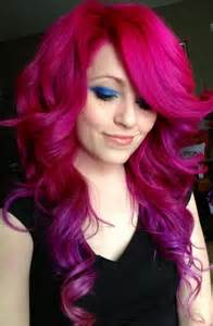 fuchsia hair color 10 cool and funky hair colors to try out