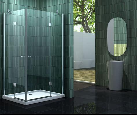 schiebetür glas 120 cm neotec 120 x 90 glas duschkabine eckeinstieg dusche