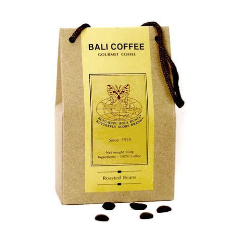 Coffee Bean Di Bali jual kupu kupu bola dunia bali coffee beans tas 100 gr