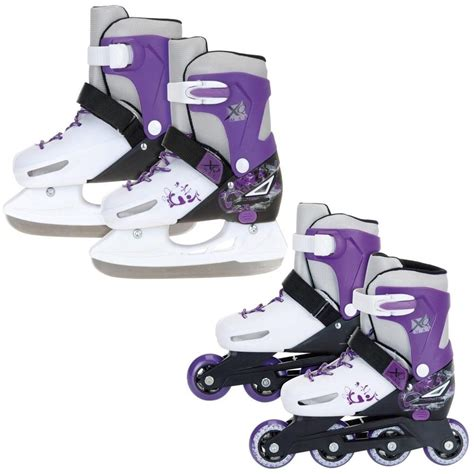 skates shoes for xq max 2in1 inline pro roller skates skating boots