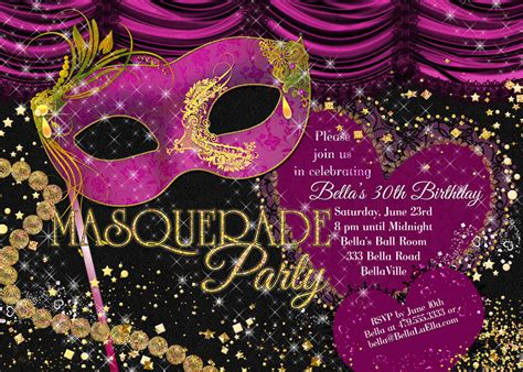 masquerade party invitations theruntime com