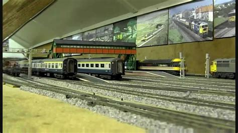 oo layout youtube model railway oo gauge layout an afternoon at burrfields