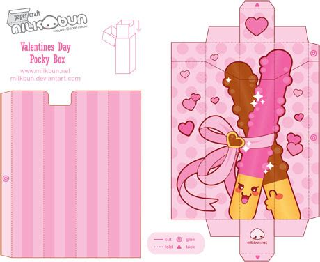 kawaii box template printable diy and crafts pinterest cute research on packaging page 4