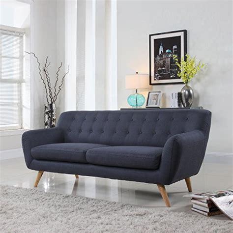 mid century modern sofa amazoncom