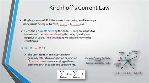 kirchhoff s for inductor kirchhoff s laws for circuits презентация онлайн