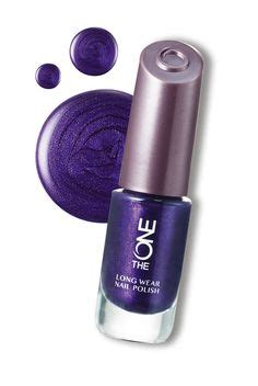 oriflame the one nail purple in the one