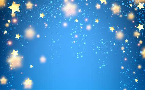 wallpaper blue background stars luminous  abstract