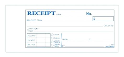 Free Receipt Book Template Word by Printable Receipt Book Fiveoutsiders
