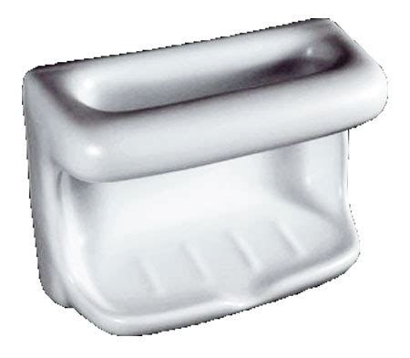 Steel Porcelain Bathtub Soap Dish With Wash Cloth White By Hcp Industries At
