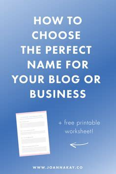 how to pick a name for your business 1000 ideas about business names on pinterest a business