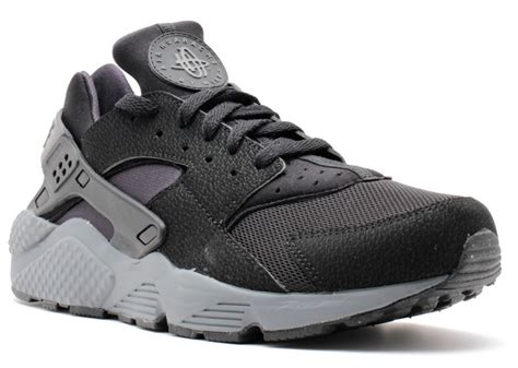 Air Grey air huarache nike 318429 010 black black black