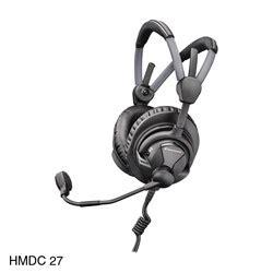 Sennheiser 35mm Stereo sennheiser hmdc 27 headset stereo 600 ohms 300 ohm dyn mic 2m cable 6 35mm xlr3m