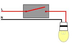 One Way Switch Connection Diagram