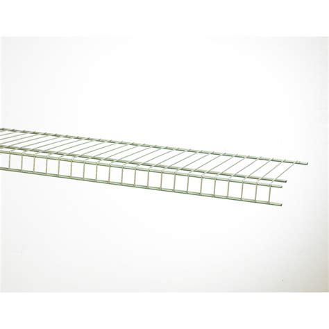 shop closetmaid 6 ft l x 16 in d chrome wire shelf at
