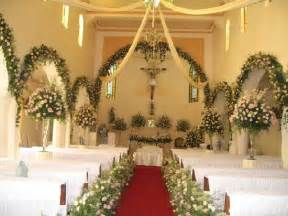 church wedding decor decoration