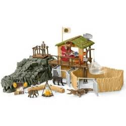 croco jungle research station schleich 42350