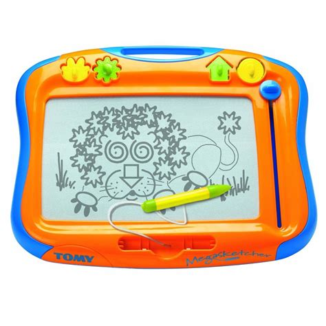 Drawing Magnetic Board tomy 6555 children megasketcher classique magnetic