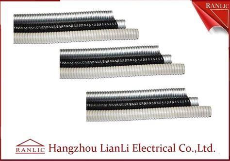 Flexibele Conduit 34 Metal Pvc Coated grey black galvanized steel electrical conduit with pvc coated
