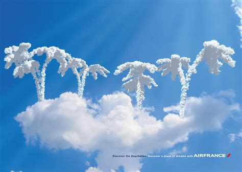 air france print advert by ilde cs place of dreams