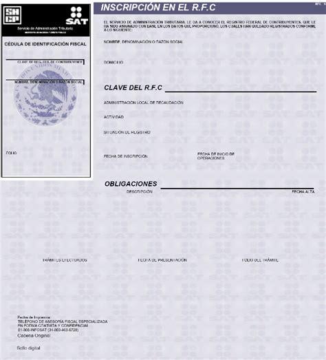 idconline constancia de situacin fiscal del contribuyente dof diario oficial de la federaci 243 n