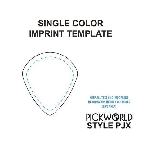guitar pick design template images templates design ideas