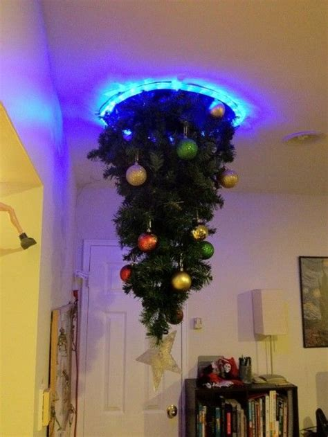 hanging upside down christmas trees reinventing space portal christmas tree i m generally not a fan of the