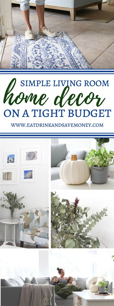 home decor on a budget blog a home on a budget easy ways to update your living room on