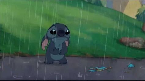 stitches sad stitch cries sad from lilo and stitch 2