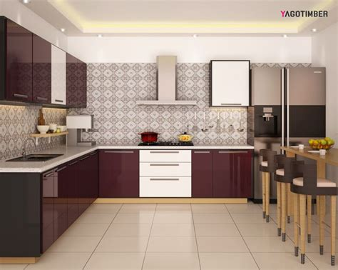 modular kitchen projects live kitchens in delhi india 23 best l shaped modular kitchen images on pinterest
