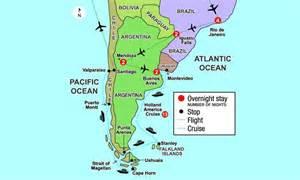map of strait of magellan map travel