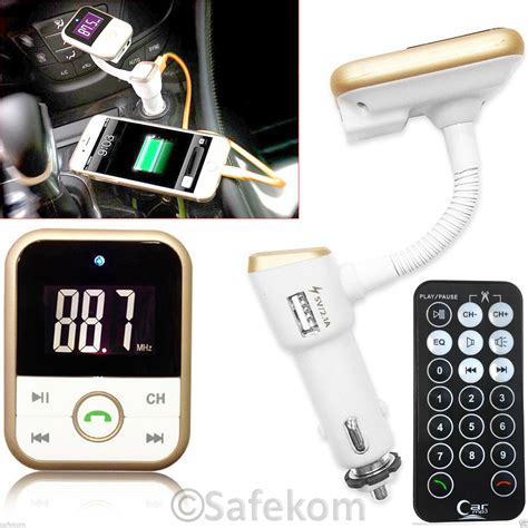 fm transmitter mobile wireless bluetooth fm transmitter mp3 player sd usb mobile