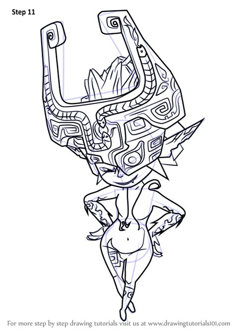 learn   draw midna   legend  zelda