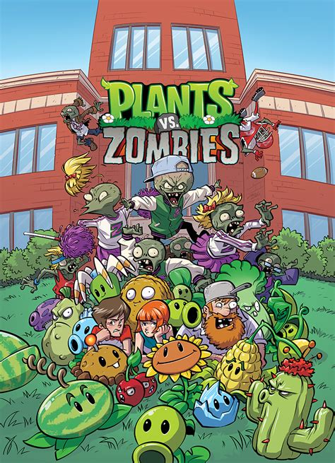 Plants Vs Zombies Comic Series Coming to Dark Horse in June