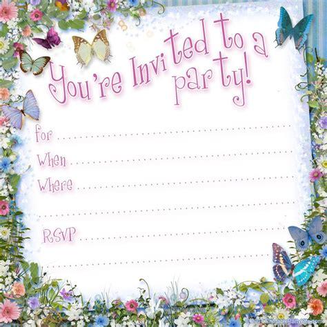 Birthday Invite Template Cyberuse 21st Birthday Invitation Templates Free Printable