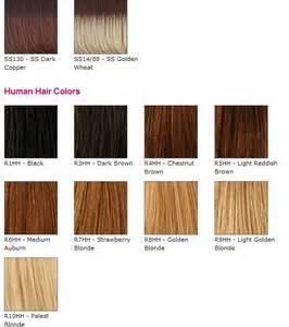 raquel welch wig colors raquel welch color chart