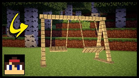 swing minecraft minecraft pe how to make a working swing set no mods or