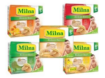 Milna Biscuit Bayi Pisang 130 Gr detil produk milna biscuit bayi 6 130 gr