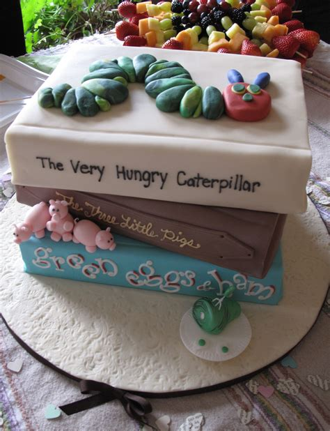 book themed cakes baby shower themes for you to choose from nicole s
