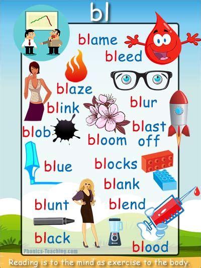bl list phonics poster bl sound phonics teaching