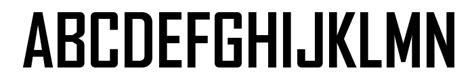 fb font tr heavy font download