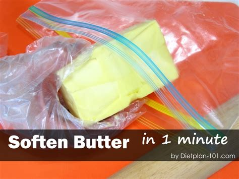 how to soften butter without microwave in 1 minute diet plan 101