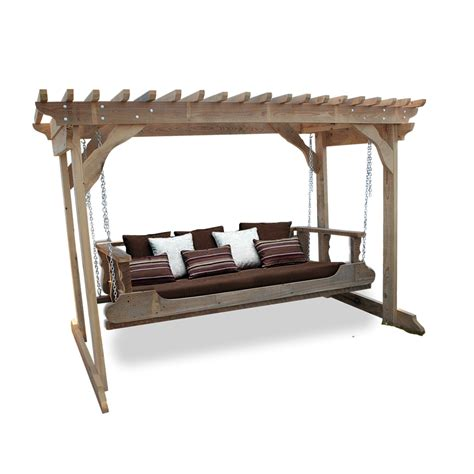 swing designer designer bed swing arbor