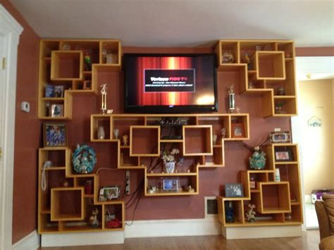bookcase tv stand wall unit by coquel lumberjocks