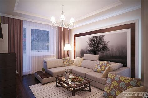 brown lounge modern rooms with a feminine touch