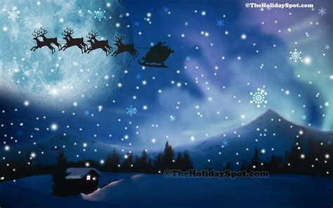 wallpaper christmas night christmas night wallpaper 1040395