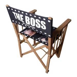 personalised directors chair custom print directors