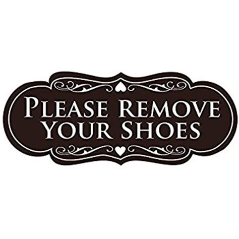Take Off Your Shoes Doormat Please Remove Shoes Sign Shoes For Yourstyles