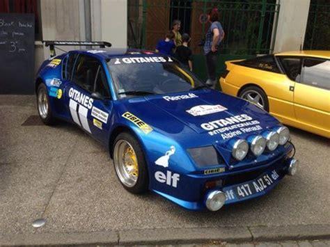 renault alpine a310 rally renault alpine a310 gitanes alpine a310