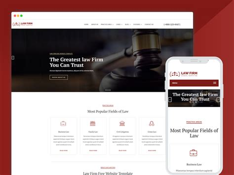 Best Bootstrap Responsive Web Design Templates 40 Ease Template Firm Responsive Website Template